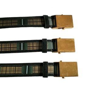Prada satin and suede, plaque buckle belt